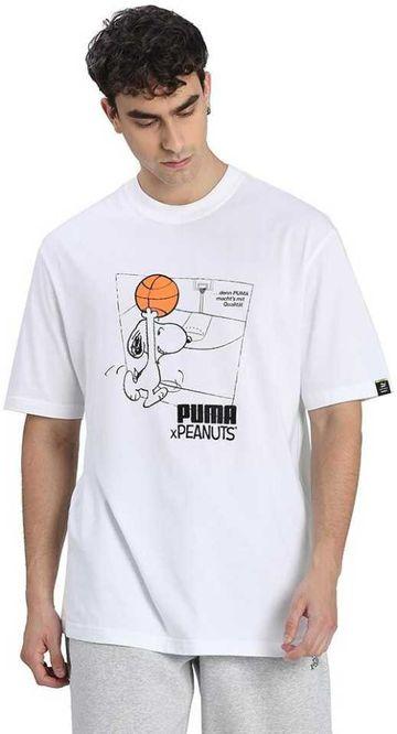 Puma | PUMA x PEANUTS Tee Puma White LIFESTYLE TOP