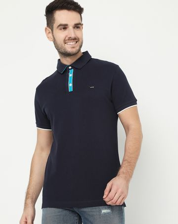 GAS | Agap/S Navy Blue Polo