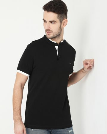 GAS | Luke Basic Black Polo