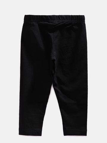 Ethnicity | Ethnicity Ankel Length Fashion Kids Black Knit Legging