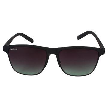 CREATURE | CREATURE Black Sunglasses with UV Protection (Lens-Black|Frame-Black)