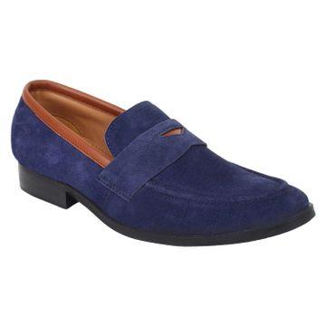 Lujo | LUJO lure handmade Loafer - Blue