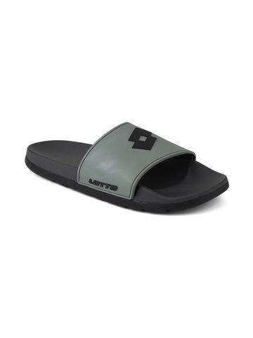 Lotto | Men's Lotto Slider Grey Slippers