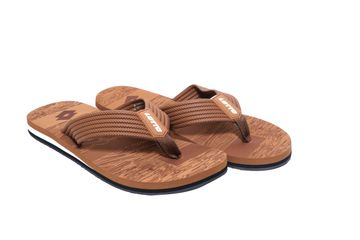 Lotto | Lotto Men's Camel_ Black Jessic Slippers