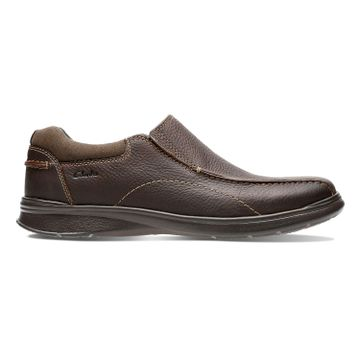Clarks | Cotrell Step Brown Oily Slip On shoes
