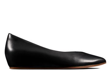 Clarks | SENSE LULA BLACK LEATHER