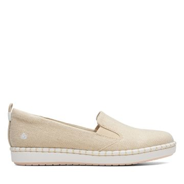 Clarks | STEP GLOW SLIP SOFT GOLD