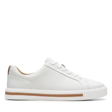 Clarks | UN MAUI LACE WHITE LEATHER
