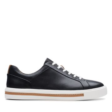Clarks | UN MAUI LACE BLACK LEATHER