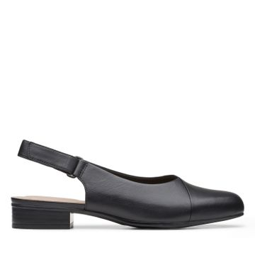 Clarks | JULIET PULL BLACK LEATHER