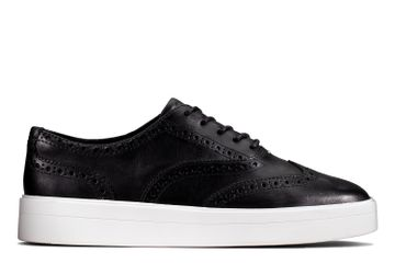 Clarks | HERO BROGUE. BLACK LEATHER