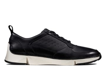 Clarks | TRI SPRINT BLACK LEATHER