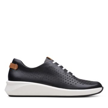 Clarks | UN RIO TIE BLACK LEATHER