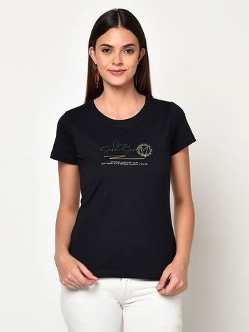 METTLE | Women NAVY T-Shirts