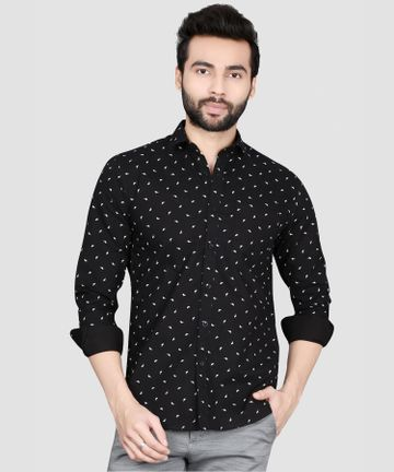5th Anfold | Printed Casual Full Sleev Shirt By 5th Anfold