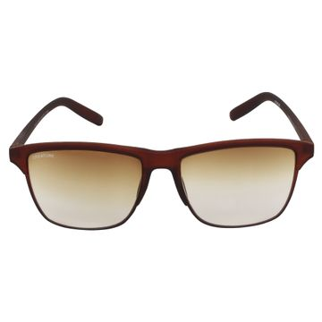 CREATURE | CREATURE Brown Matt Finish Unisex Sunglasses with UV Protection (Lens-Brown|Frame-Brown)