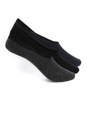 Smarty Pants   Smarty Pants women's pack of 3 solid loafer style cotton socks