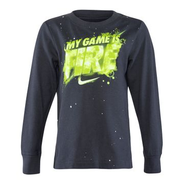 Nike | AnthraciteNike Long Sleeve Logo T-Shirt