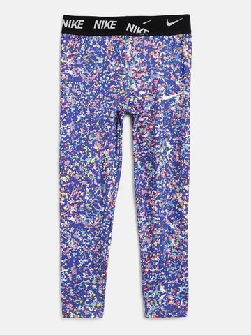 Nike | Hyper Blue Nike Dri-FIT Printed Jersey Leggings