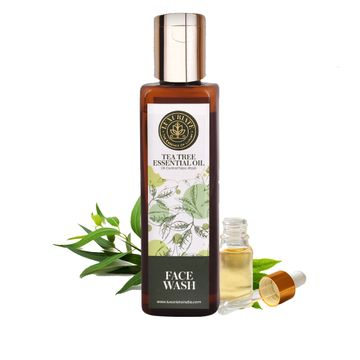 LUXURIATE | LUXURIATE Natural Herbal Tea Tree Face Wash for Men and Women,100 ml
