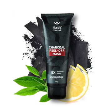 Bombay Shaving Company |  Activated Charcoal Peel Off Mask - 100g