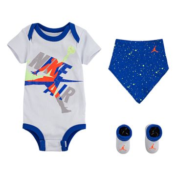 JORDAN | Jordan Jumpman Classics Bodysuit, Bib and Booties 3-Piece Set