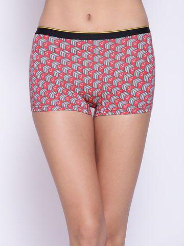 Bummer | Bummer Mindsweeper Multi-Coloured Micro Modal Boy Short For Women