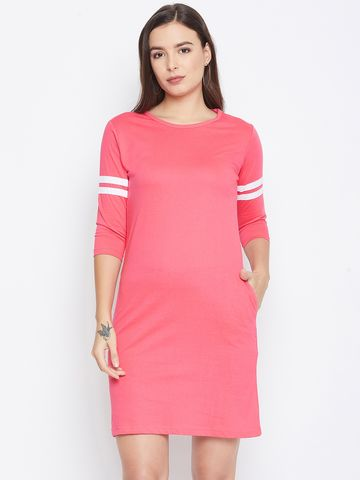 Jhankhi | Pink Shift Dress