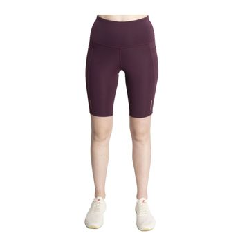 SilverTraq | Women's Biker Shorts Plum