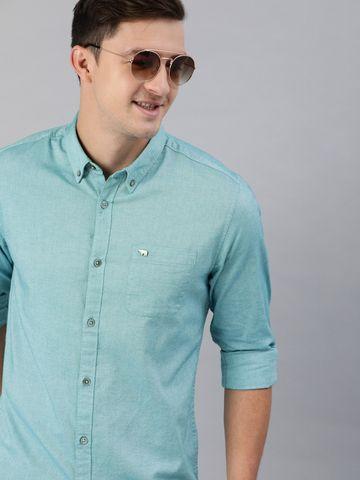 The Bear House | Men's Blue Button-Down Shirt