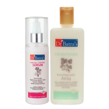 Dr Batra's | Dr Batra's Hair Fall Control Serum-125 ml and Conditioner - 200 ml
