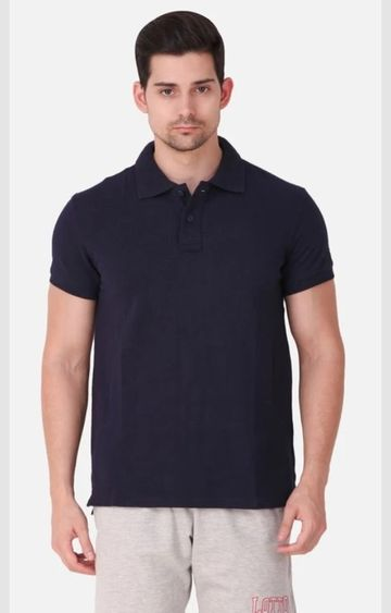 Lotto | Lotto Men's Polo Basic PC PR Navy Blue T-Shirt