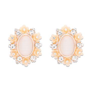 globus | Globus Rose Gold Dangling Stud Earring