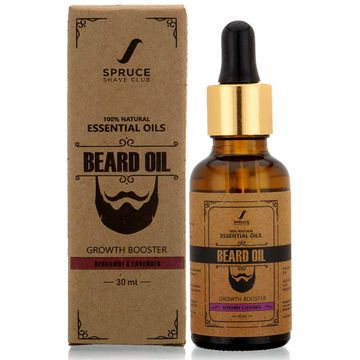 Spruce Shave Club | Spruce Shave Club Beard Growth Oil For Men| 100% Natural | Bergamot & Lavender
