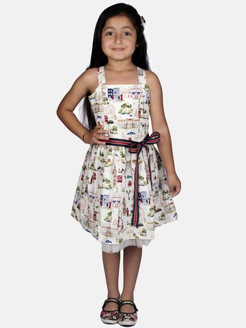 Ribbon Candy | RIBBON CANDY Girl's Marry Poppins  Sleeveless Fit and Flare Dress