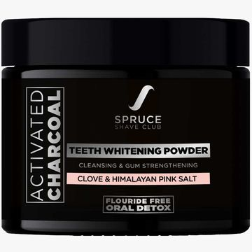 Spruce Shave Club | Spruce Shave Club Charcoal Teeth Whitening Powder with Clove & Himalayan Pink Salt