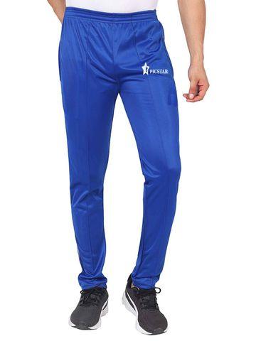 Picstar | PICSTAR Solid Men Blue Track Pants