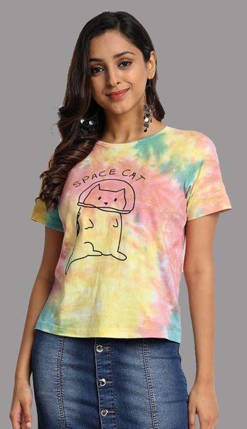 Juneberry | Juneberry Tie Die T-shirt For Women