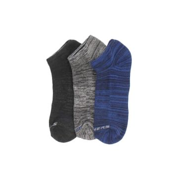 Skechers | SKECHERS 3PK 1/2 TERRY NO SHO WALKING SOCKS