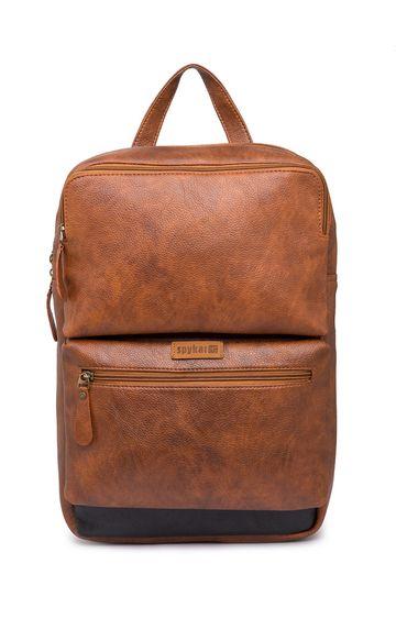 Spykar | Spykar Tan Polyester Backpack