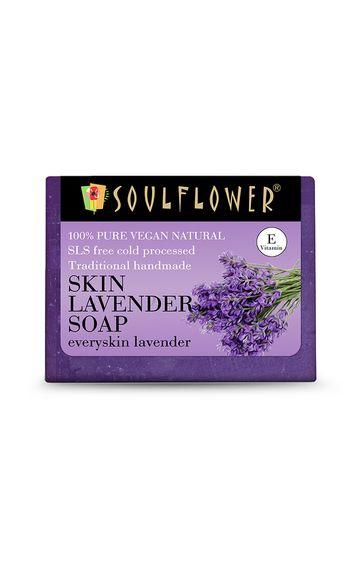Soulflower | Skin Lavender Soap - 150gm