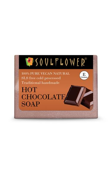 Soulflower   Hot Chocolate Soap - 150gm