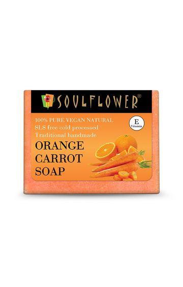 Soulflower | Orange Carrot Soap - 150gm