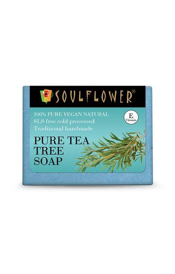 Soulflower | Pure Tea Tree Soap - 150gm