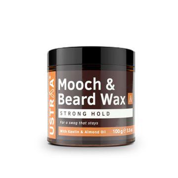 Ustraa | Ustraa Beard & Mooch Wax - Strong Hold - 100g