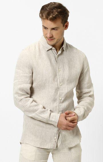 celio | celio Off White Casual Shirt