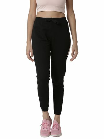 De Moza | De Moza Ladies Jogger Cotton Black