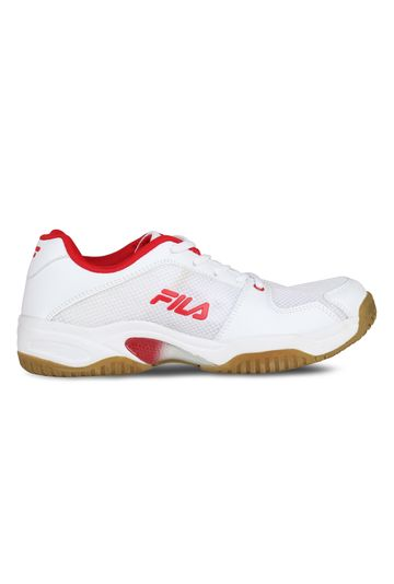 FILA   White Indoor Sports Shoes