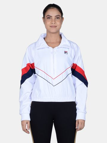 FILA | White Activewear Jackets