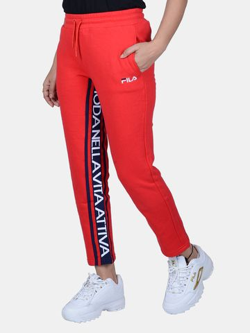 FILA | Red Trackpants